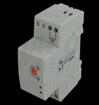 Tracon ALK-BOX Alkonykapcsoló fénykapcsoló 16A IP20 2-100 lux alkonyatkapcsoló