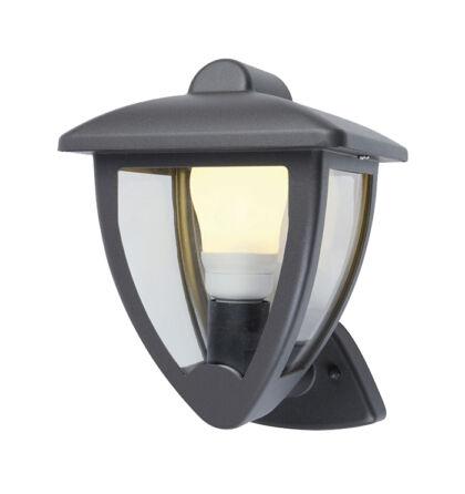 Tata kültéri falikar felfelé álló lámpatest alumínium E27 sötét szürke IP44 (ANCO)
