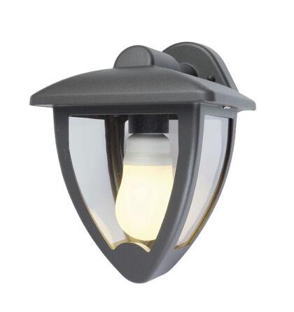 Tata kültéri falikar lefelé álló lámpatest alumínium E27 sötét szürke IP44 (ANCO)