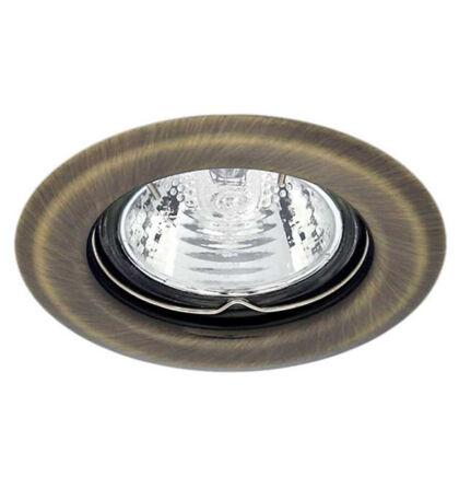 Kanlux álmennyezeti beépíthető spot lámpa matt réz lámpatest Argus CT-2114-BR/M