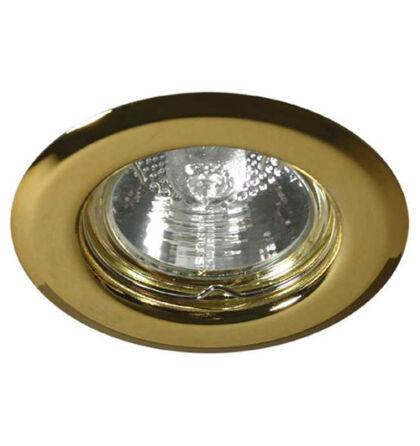 Kanlux álmennyezeti beépíthető spot lámpa arany lámpatest Argus CT-2114-G