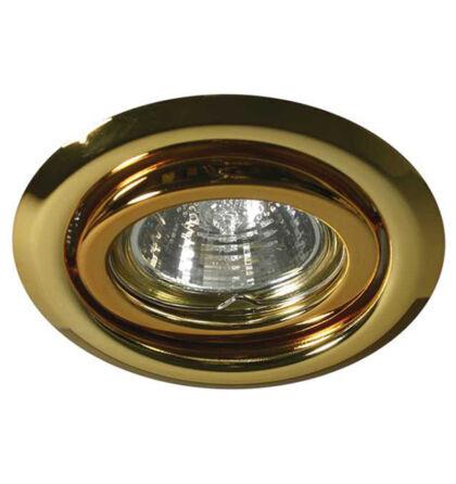 Kanlux álmennyezeti beépíthető spot lámpa billenthető arany lámpatest Argus CT-2115-G