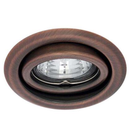 Kanlux álmennyezeti beépíthető spot lámpa billenthető réz lámpatest Argus CT-2115-AN