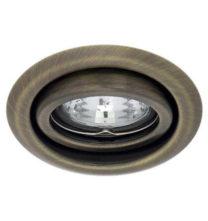 Kanlux álmennyezeti beépíthető spot lámpa billenthető matt réz lámpatest Argus CT-2115-BR/M