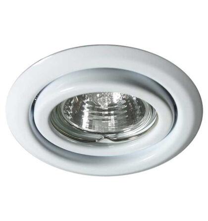Kanlux álmennyezeti beépíthető spot lámpa billenthető fehér lámpatest Argus CT-2115-W
