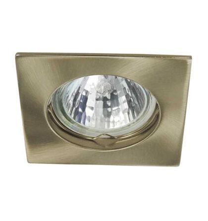 Kanlux álmennyezeti beépíthető spot lámpa antik réz lámpatest Navi CTX-DS10-AB