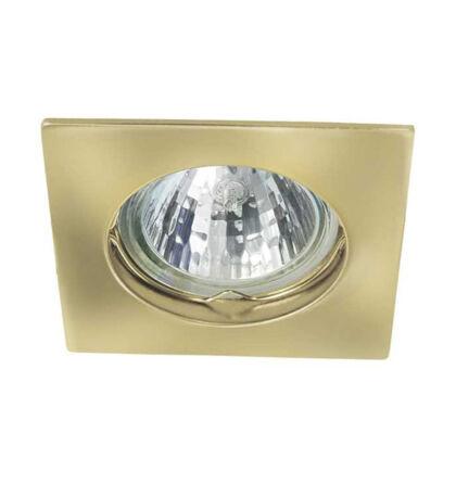 Kanlux álmennyezeti beépíthető spot lámpa arany lámpatest Navi CTX-DS10-G