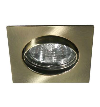 Kanlux álmennyezeti beépíthető spot lámpa billenthető antik réz lámpatest Navi CTX-DT10-AB
