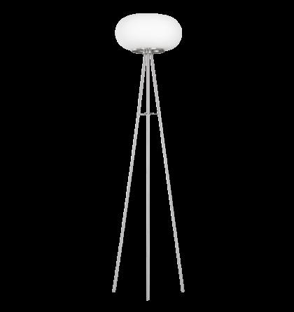 Eglo állólámpa 2x60W E27 nikkel/opál Optica 86817