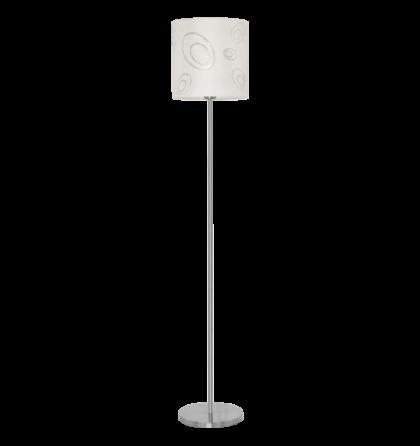 Eglo állólámpa E27 1x60W matt nikkel Indo 89217