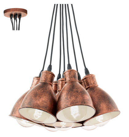 Eglo Priddy mennyezeti vintage  lámpatest  49494