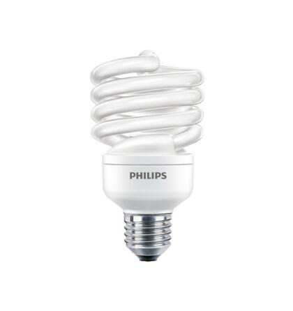 Philips TORNADO energiatakarékos 23W =103 W E27 kompakt fénycső spirál 6500K hideg fehér ECONOMY ...