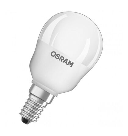 Osram CL P 40 kisgömb led lámpa-izzó E14 5W/840 4000K természetes fehér 470 lumen