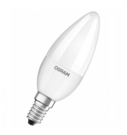 Osram CL B 40 gyertya led lámpa-izzó E14 7W/827 2700K meleg fehér 806 lumen