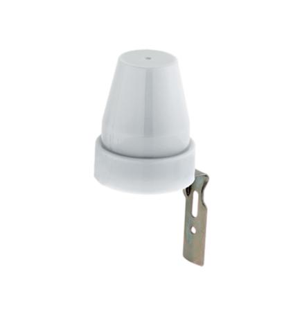 Alkonykapcsoló fénykapcsoló 10A IP44 5-50 lux alkonyatkapcsoló / fényérzékelő / ST302