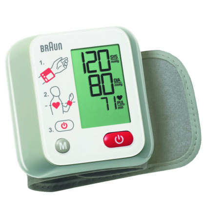 Vérnyomásmérő csuklós 10 memóriás BBP 2000CEME Braun