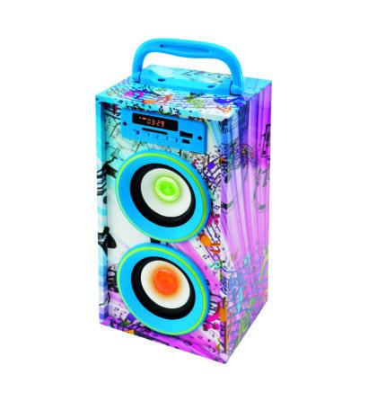 BT 2800/BL 4in1 hordozható LED színváltós multimédia hangszóró Somogyi