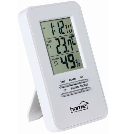 Home Somogyi hő és páratartalom-mérő ébresztőórával HC13