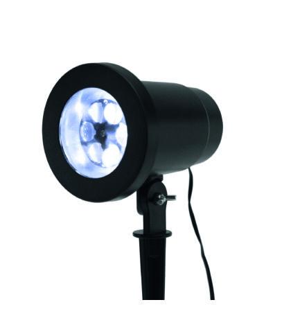 Somogyi LED projektor, hópehely fényeffekt karácsonyi díszvilágítás DL IP 1