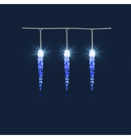 Somogyi LED-es jégcsap izzósor 7,3m kültéri KJL 50