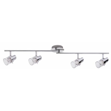 Dakota LED 4x4,5W króm/kristály spot lámpatest Rábalux 6674