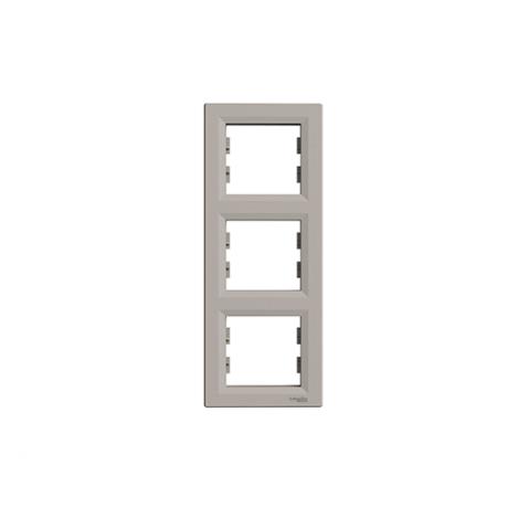 Asfora keret 3-as bronz Függőleges IP20 EPH5810369