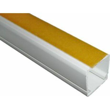 CANALUX öntapadós műanyag kábelcsatorna 40x40mm 2m/szál 24m/köt fehér