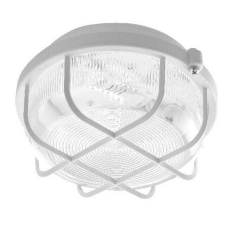 VEGA LED hajólámpa kerek, műanyag védőráccsal 5W 620 Lm 4000K természetes fehér 948015 DÜWI