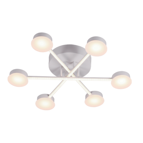 Elmark AZZAR LUXUS mennyezeti LED lámpatest 66W 4950lm 3000K meleg fehér 955AZZAR66