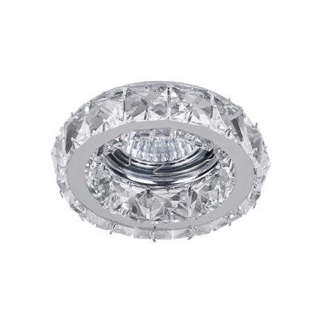 Elmark kristály álmennyezeti beépíthető modern spotlámpa 925773R/CL