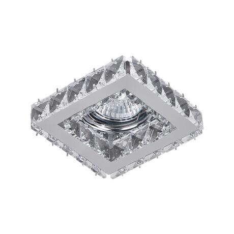 Elmark kristály álmennyezeti beépíthető modern spotlámpa 925773S/CL