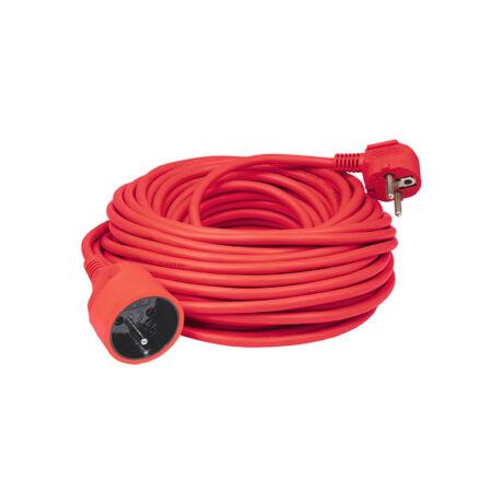 Somogyi lengő hosszabbító piros 20m H05VV-F 3G1,5 mm2 IP20 NV 2-20/RD/1,5