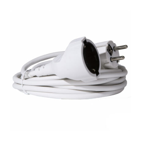 Somogyi NV 2-20/W fűnyíró 20m hálózati lengő hosszabbító fehér színű 20m 2300W IP20 NV 2-20/W