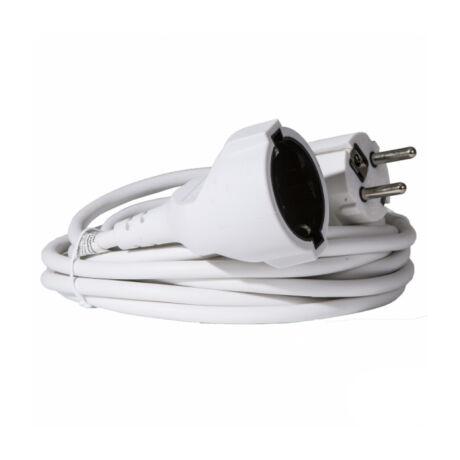 Somogyi NV 2-30/W fűnyíró 30m hálózati lengő hosszabbító fehér színű 2300W IP20 NV 2-30/W