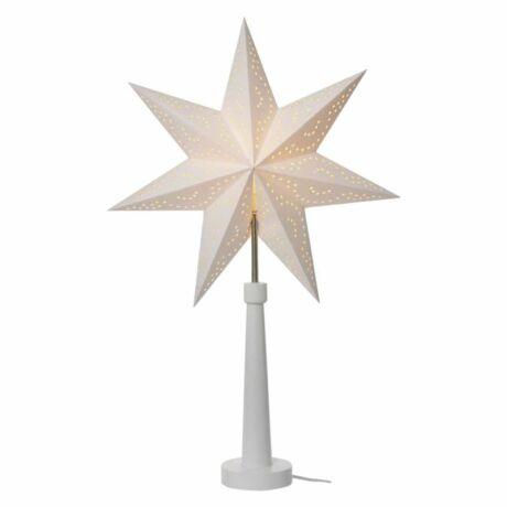 Emos Gyertyatartó E14 izzókhoz papír csillagokkal 46×70cm fehér ZY2213