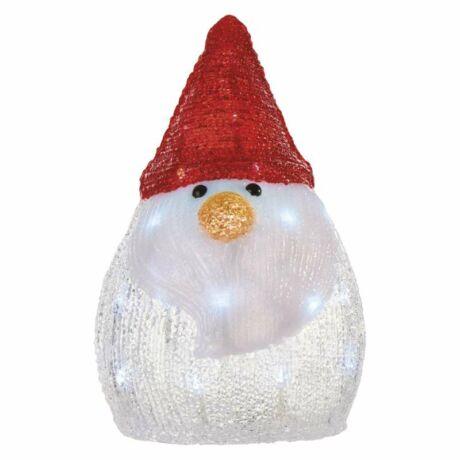 Emos LED karácsony hóember 30cm 3 × AA, CW, időzítővel ZY2231
