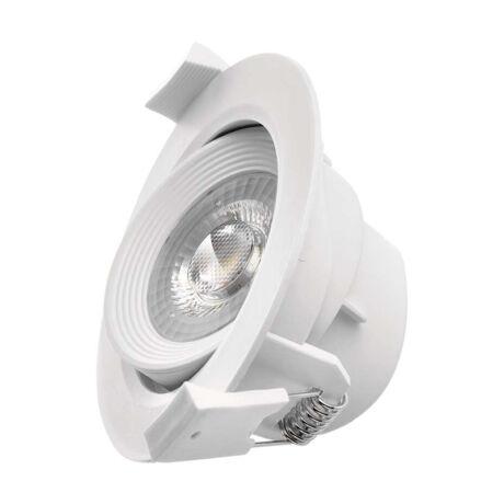 Emos LED beépíthető spotlámpa fehér 5W 3000K meleg fehér ZD3520