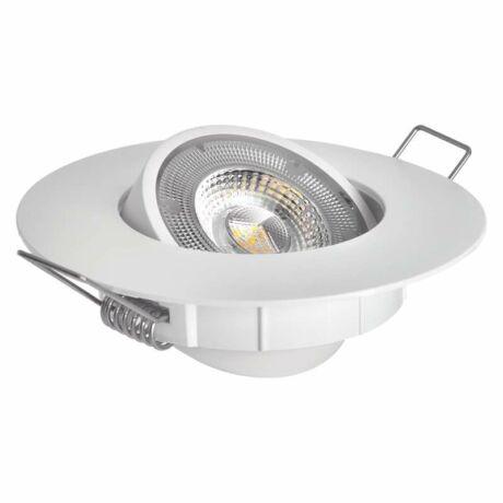 EMOS LED Spotlámpa 5W természetes fehér álmennyezetbe építhető 3év garancia ZD3122