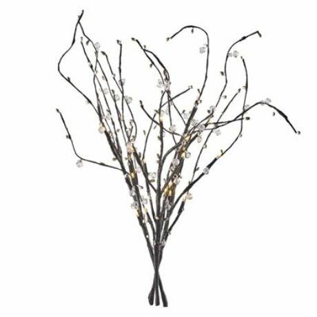 Emos HOME dekorációs LED barka faág időzítővel 60cm 24LED 3xAA meleg fehér ZY2135