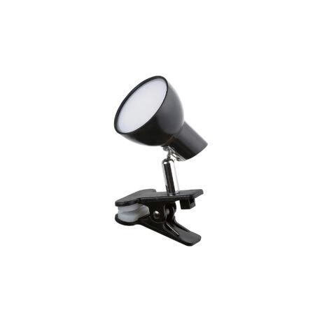 Rábalux csiptethető LED lámpatest fekete 5W 360 Lm 3000K meleg fehér Rábalux 1478
