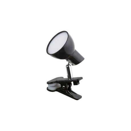 Noah csiptethető LED lámpatest fekete 5W 360 Lm 3000K meleg fehér Rábalux 1478