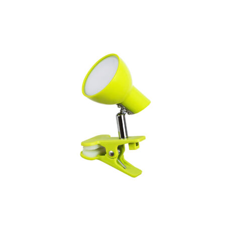 Noah csiptethető LED lámpatest zöld 5W 360 Lm 3000K meleg fehér Rábalux 1481