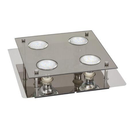 Naomi LED GU10 15W 3000K 400Lm 26x26 mennyezeti lámpa Rábalux 2641