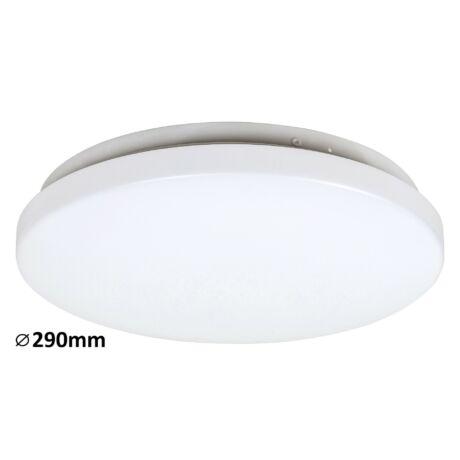 Rob LED 20W 1400 Lm 3000K meleg fehér D30 kör alakú mennyezeti lámpatest IP20 Rábalux 3338