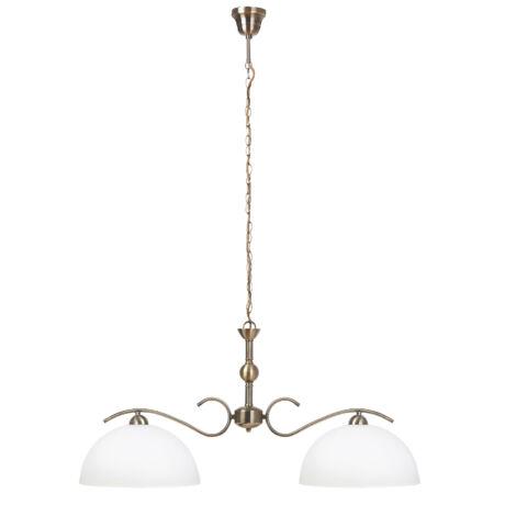 Aurelia klasszikus függeszték lámpatest bronz 2xE27 Rábalux 7139