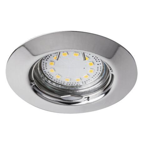 LITE LED 3XGU10 3W fix króm beépíthető spot Rábalux 1047 (3db/szett)