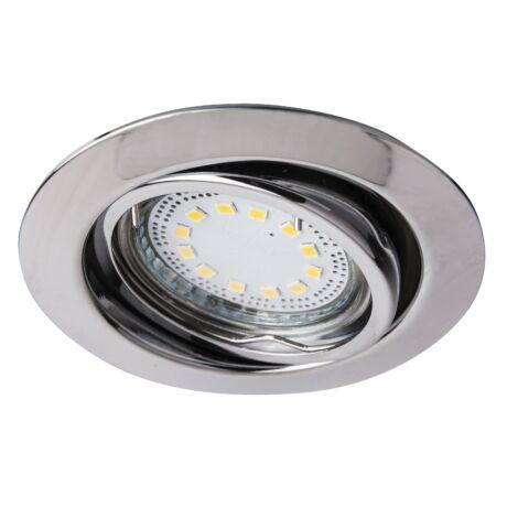 Lite LED 3XGU10 3W billenthető króm beépíthető spot Rábalux 1050 (3 db/szett)