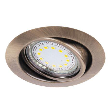LITE LED 3XGU10 3W billenthető bronz beépíthető spot Rábalux 1051 (3db / szett)
