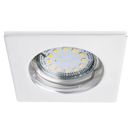 LITE LED 3XGU10 3W fix fehér szögletes beépíthető spot Rábalux 1052 (3db/ szett)