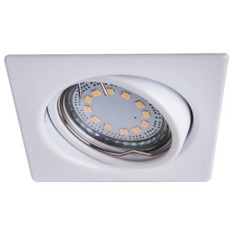 Lite LED 3xGu10 3W billenthető fehér szögletes beépíthető spot Rábalux 1055 (3 db/szett)